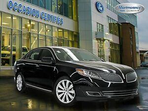 2016 Lincoln MKS EcoBoost AWD+CUIR+TOIT+GPS