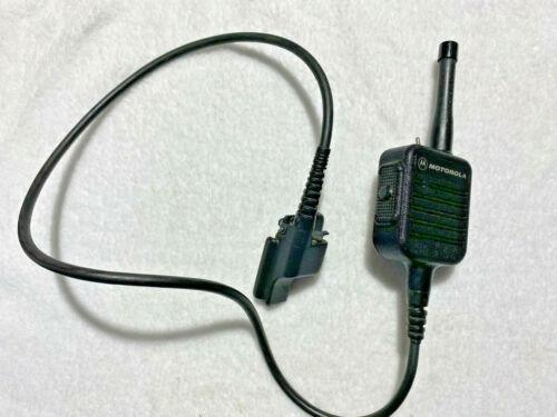 Motorola NMN6228C Public Safety Speaker Microphone - Lapel Mic - Speaker