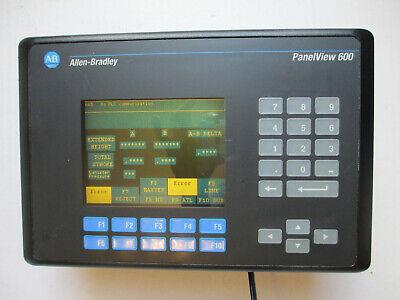 Allen Bradley 2711-k6c1 Panelview 600 Serb