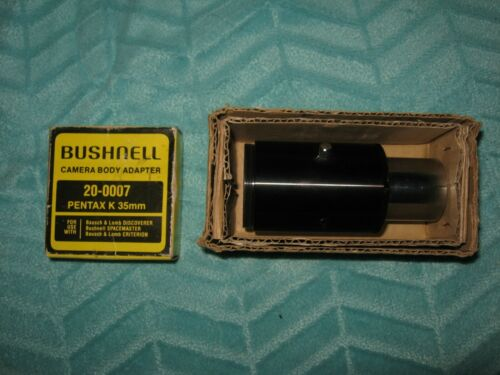 Vintage Telescope Bushnell Camera Body Adapter & Tube Pentax 35MM Film