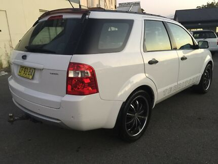 2004 Ford Territory GHIA Luxury 5 Seater $6500 Labrador Gold Coast City Preview