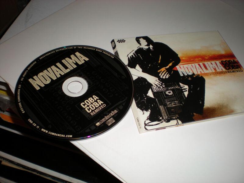 Novalima Coba Coba Remixed CD 14 tracks