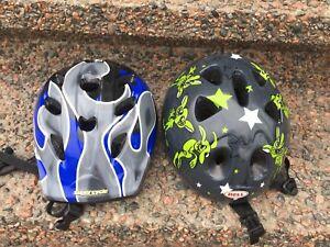 Toddler/child bike helmets