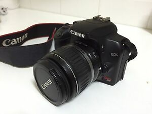 Canon EOS Rebel XS SLR Digital Camera (Black) Freshwater Manly Area Preview