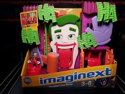 Fisher-Price Imaginext DC Super Friends - The Joker's Fun House 2009 NEW Sealed