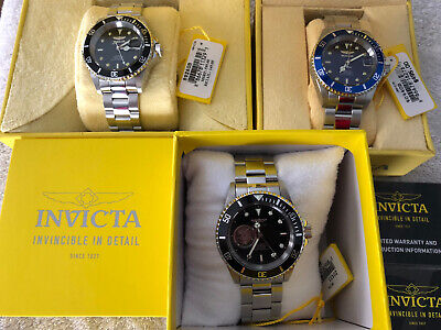 Invicta Pro Diver Automatic 40mm (Lot of 3) Excellent Near MINT A+++