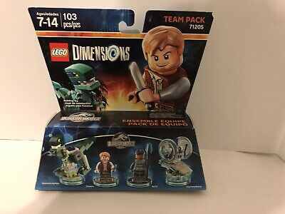 Lego 71205 Dimensions Jurassic World Team Pack Brand New Sealed