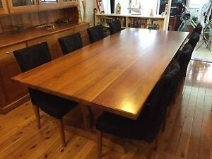 PRICE SLASHED! Tasmanian Blackwood Dining Suite Hornsby Hornsby Area Preview
