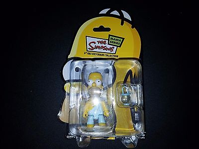 "THE SIMPSONS MANIA SERIES 3"" QEE KEYCHAIN COLLECTIBLE HOMER SIMPSONS TOGA, used for sale  Brooklyn"
