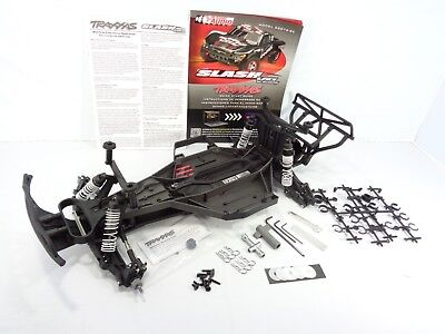 NEW Traxxas Slash 2wd VXL LCG Pre Rolling Roller Chassis Conversion & Extras