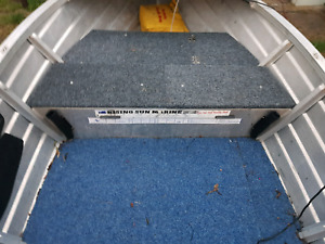 False floors,casting decks,under floor storage alloy welding