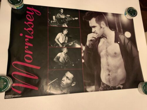 Vtg 1992 Morrissey Original Poster Your Arsenal The Smiths Rolled Giant Brand