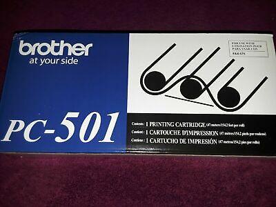 Genuine Brother Pc-501 Printer Cartridge For Fax-575 Machine. Original Oem