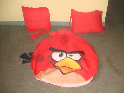 ANGRY BIRDS ADULT SIZE COSTUME WITH ORIGINAL PILLOW BELT FOR ADDED PUFFINESS !   - Angry Bird Costumes For Adults