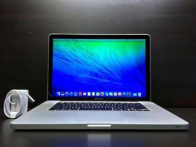 "UPGRADED Apple MacBook Pro 15"" / 2.53GHz Intel / 8GB RAM / HUGE 1TB / OSX-2015"