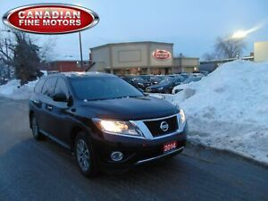 2014 Nissan Pathfinder 7 PASS| ALLOY'S| DUAL DVD| ONE OWNER