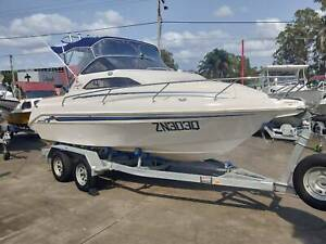 2001 WHITTLEY 580 VOYAGER W / 2017 YAMAHA 150 4 ST AND 2019 TRAILER Clontarf Redcliffe Area Preview