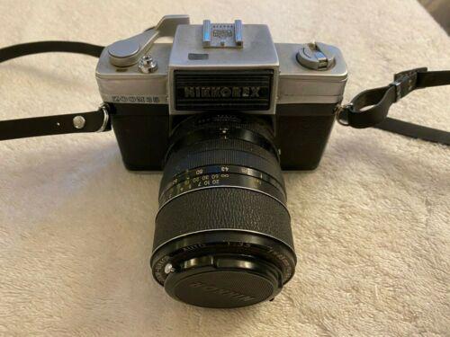 Nikkorex Zoom 35 Camera w/ f43-86mm Nippon Kogaku Zoom-Nikkor Auto 1:3.5 Lens