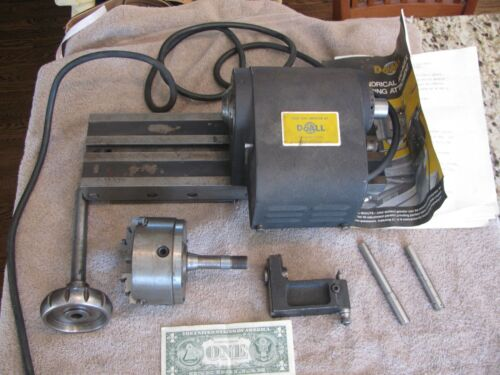 """Surface Grinder attachment DoAll Cylindrical and index 4"""" USA #1434 Buck Chuck"""