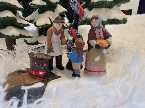 Dept 56 Dickens Village -Chestnut Vendor NIB