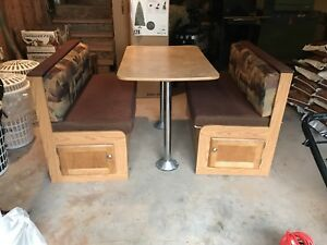 Banquette Seat for Travel Trailer