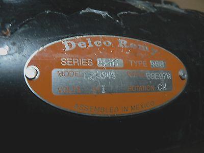 DELCO REMY 42MT STARTER 1993940 24V 12T CW