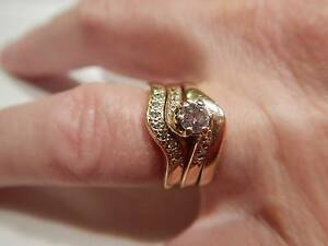 Ring set - Wedding band, engagement ring and eternity ring set Mount Hawthorn Vincent Area Preview