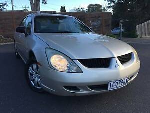 2004 Mitsubishi Magna Sedan AUTOMATIC, COMES WITH RWC. Heidelberg Heights Banyule Area Preview