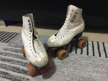 Figure skates roller skates
