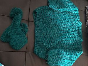 Baby knitted wear with socks .dress women and men clothing Auburn Auburn Area Preview