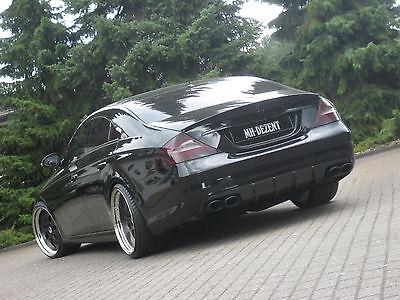MH-DEZENT Echt Carbon Heckdiffusor für Mercedes CLS55  AMG CLS W219 Real-Carbon