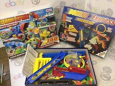 BUNDLE DOMINO EXPRESS IDEAL Crazy Factory NEW & Dare devil ride Sets CHRISTMAS for sale  Shipping to Ireland