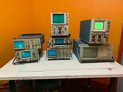 Lot Of Textronix Oscilloscopes-for Parts