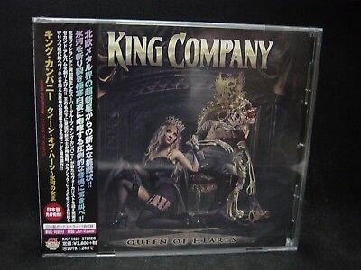 KING COMPANY Queen Of Hearts + 1 JAPAN CD Thunderstone Kotipelto Warmen Finland
