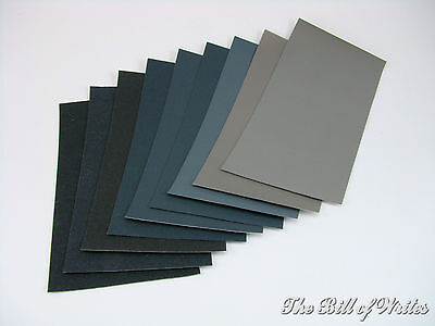 "MICRO-MESH Sanding, Finishing & Polishing Sheets 3"" x 4""- 9 Grades MADE IN USA"