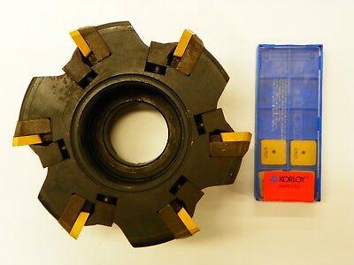 Sandvik Ra285.2-125-25 15 Degree 5.0 Face Mill Spkn 53 Carbide Inserts B979