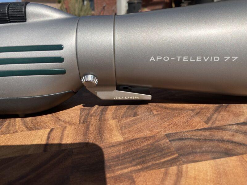 "Leica ""Leupold"" spotting scope APO Televid 77mm"