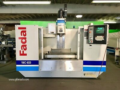 Fadal Vmc 4020 Cnc Machining Center 28 Z Axis 4th Axis Ready Rigid Tap