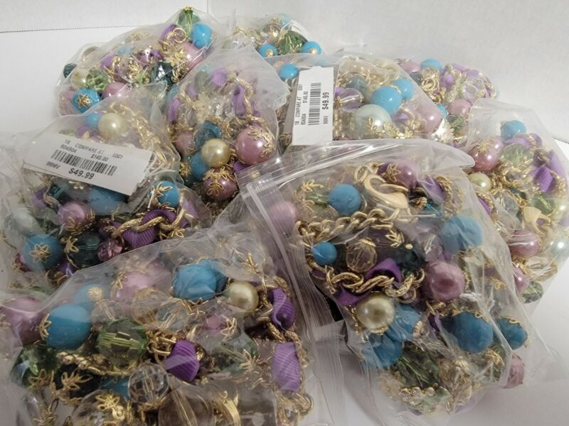 Wholesale LUCY & LAUREL Matching Necklaces & Bracelets Beaded Baubles Turquoise