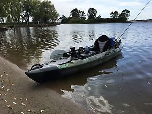 Fishing Kayak with motor. Hoppers Crossing Wyndham Area Preview