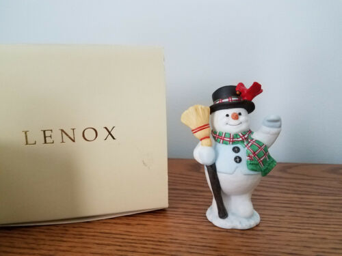 Lenox Snowman Salute ornament from 1998