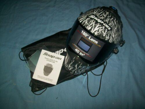 New Snap-on™ Efp2wflame High Definition Adjustable Auto Darkening Welding Helmet