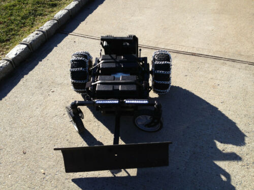 Custom Built Remote Control Heavy Duty Snow Plow