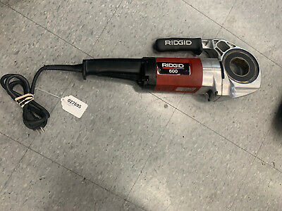 Ridgid 600 Pipe Threader Tool With Clamp No Dies