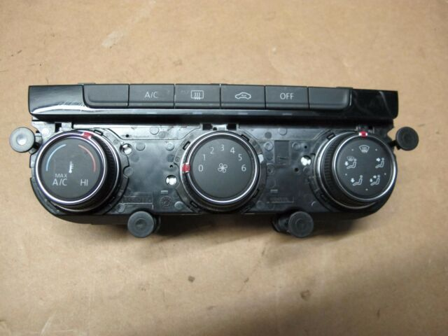 VW Golf 2013 on A/C + Heater Control Panel  5G0 907 426J  5G0907426J