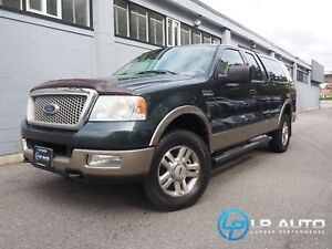 2004 Ford F-150 Lariat 4WD! MINT! Cap and Winter Tires Included!