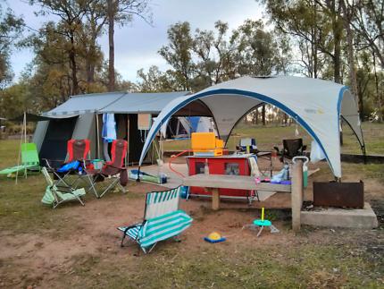 Dune Innamincka canvas 4-6 man tent. & Tent Dune 4WD Kimberley 9 Plus Tent.   Camping u0026 Hiking   Gumtree ...