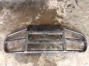 Front brush guard