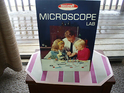 VINTAGE 1960s SKILL CRAFT MICROSCOPE LAB for sale  North Canton