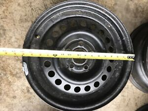 "15"" Steel rims 5x100mm"